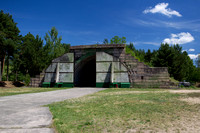 Russian style Hardened Aircraft Shelter (HAS)